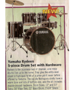 Yamaha Rydeen 5 piece Drum Set with Hardware and extras - $375.00