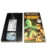 THE MUMMY VHS Movie 1990 TOMBSTONE PIZZA Promo Boris Karloff - $9.99