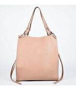 Rebecca Minkoff Kate Soft North/South Leather Tote In Pink (Retail price... - $163.35