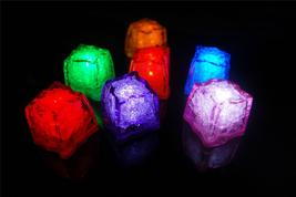 Set of 7 Litecubes Brand JEWEL Color Tinted SAMPLER PACK Light up LED Ice Cubes - $15.95