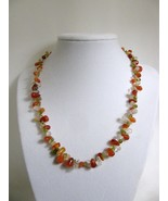 Peridot Carnelian Citrine and Copper Necklace RKM301 RKMixables Copper C... - $20.00