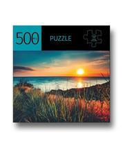 "Sunset Design Jigsaw Puzzle 500 pc  28"" x 20"" When Complete Durable Fit Pieces"
