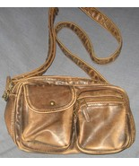 Used Brown Sonoma Life + Style Purse with Zippe... - $15.00