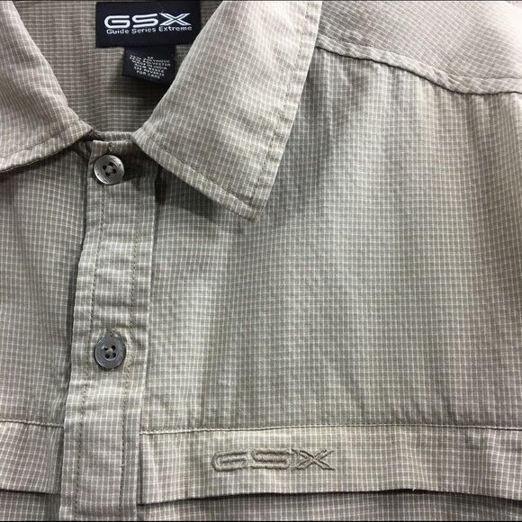 REDUCED! Gander Mountain GSX Guide Series Extreme quick dry fishing shirt, sz. M image 2