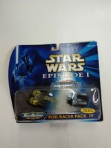 Galoob Star Wars Micro Machines Episode I Pod Racer Pack IV, New - $14.99