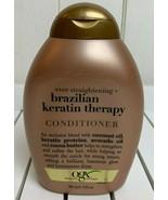 Organix Ever Straightening Brazilian Keratin Therapy Conditioner Sulfate... - $14.80
