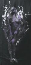 T.I.T.S. Mens Black Purple Natures Finest Sexy Woman Wifey Dark Tree T-Shirt NWT image 2