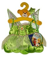 Build a Bear Tinkerbell 2pc. Fairy Costume Dress Teddy Stuffed Animal Ou... - $44.99