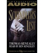 BRAND NEW FACTORY SEALED Schindler's List Audio Cassette KeneallyThomas - $12.86