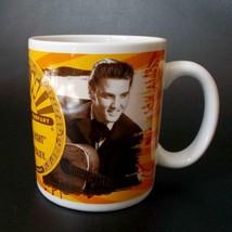 Elvis Mug That's All Right Sun Records Logo Coffee Cup Vandor 2007 - $17.81
