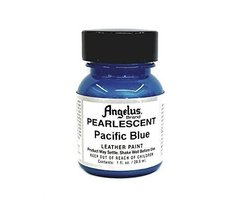 Angelus Leather Paint, 1 Ounce Jar, Pearl Pacific Blue - $6.45