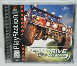 Test Drive Off-Road 3 Sony Playstation 1 PS1 Complete - Pristine Condition - $15.51