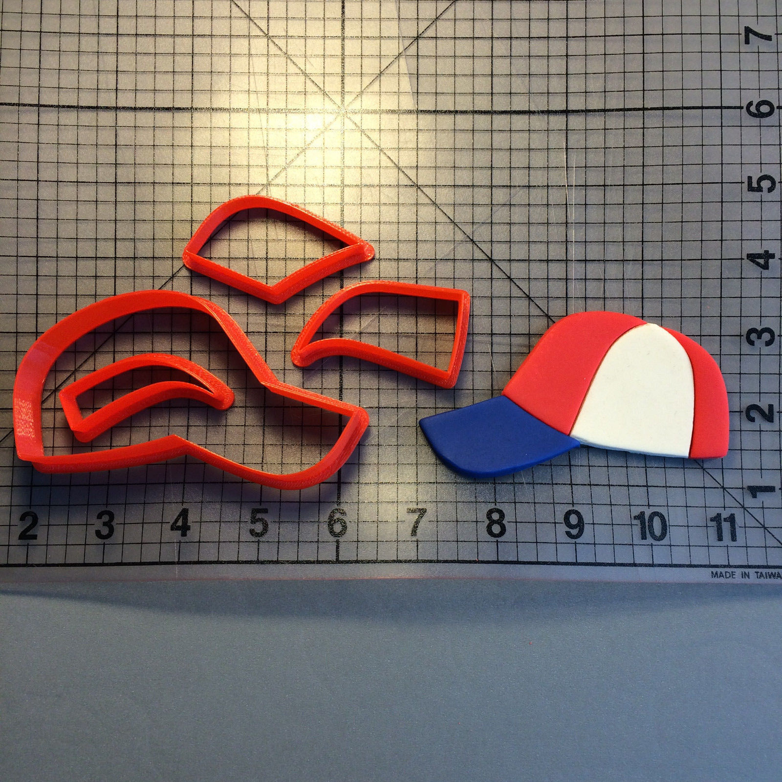 Primary image for Baseball Hat 100 Cookie Cutter Set
