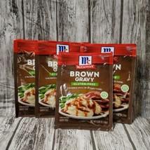 4 Pack McCormick Gluten Free Brown Gravy Seasoning .88 oz 4 Packets Nov/... - $24.75