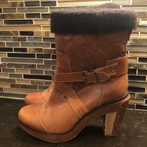 Vintage Timberland Boot Co wood heel boots - $110.14