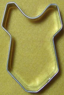 Baby Onesie cookie cutter - Perfect for baby showers!