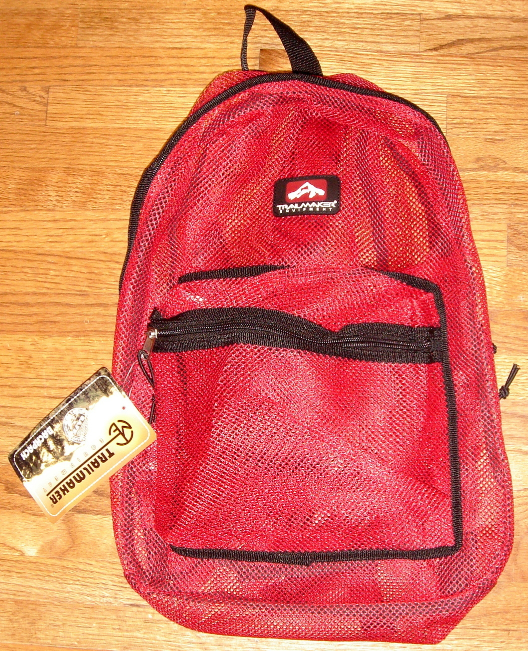 Primary image for Red Mesh Backpack by Trailmaker Equipment ~ NEW ~