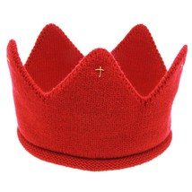 Cute Baby Crown Hats Boys Girls Crochet Children Hair Bands Soft Headwea... - $8.01
