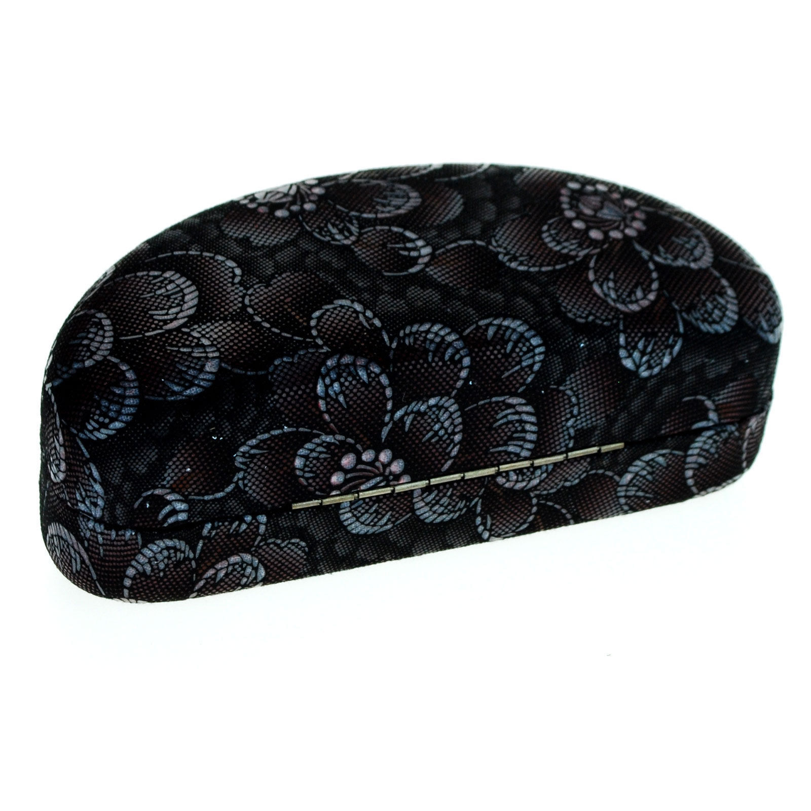 Sunglasses & Eyeglasses Protective Hard Case Soft Fabric Floral Print