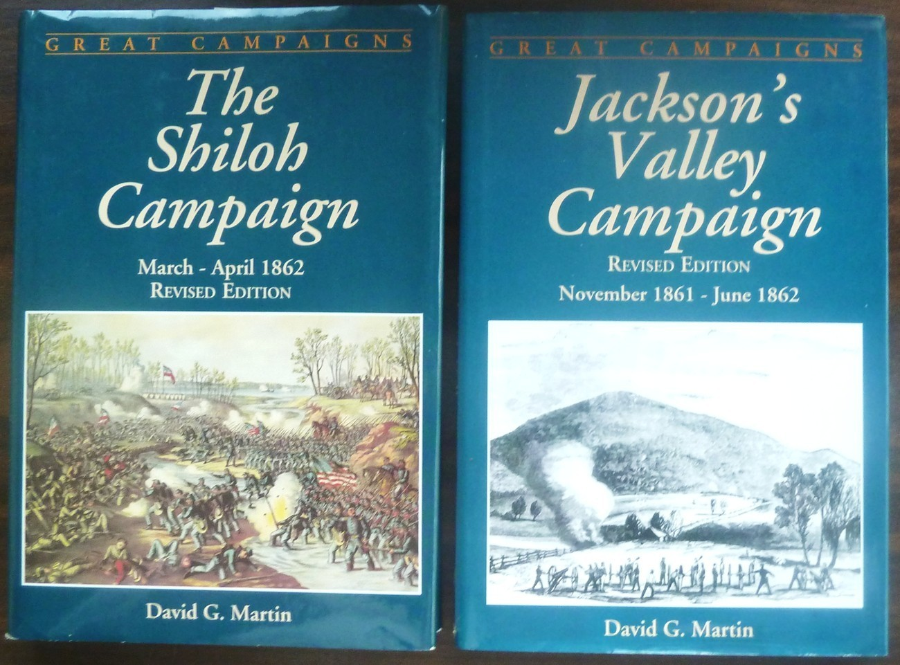 The Shiloh Campaign and Jackson's Valley Campaign by David G. Martin