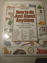 How To Do just About Anything by Readers Digest Hardback 1986 - $7.29