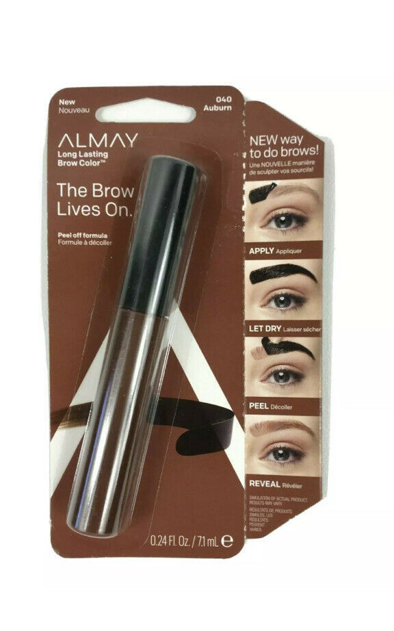 Primary image for Almay Long Lasting Brow Color The Brow Lives On Peel Off Formula 040 Auburn