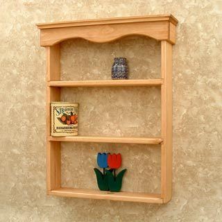 Wall Shelf From Heritage Woods