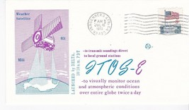ITOS-E SATELLITE LAUNCHED BY DELTA VANDENBERG AFB CA JUL 16 1973 SPACE V... - $1.98