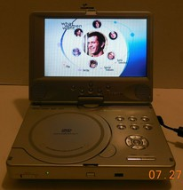 "Polaroid PDV-0821T 8"" Silver Portable DVD Player Car Widescreen Movies M... - $52.60"