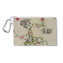 Vintage Florals Canvas Zip Pouch - $15.99+