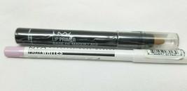 NYX Lip Primer deep Nude NYX Faux Whites Eye Brightener Lavender Blush - $18.80