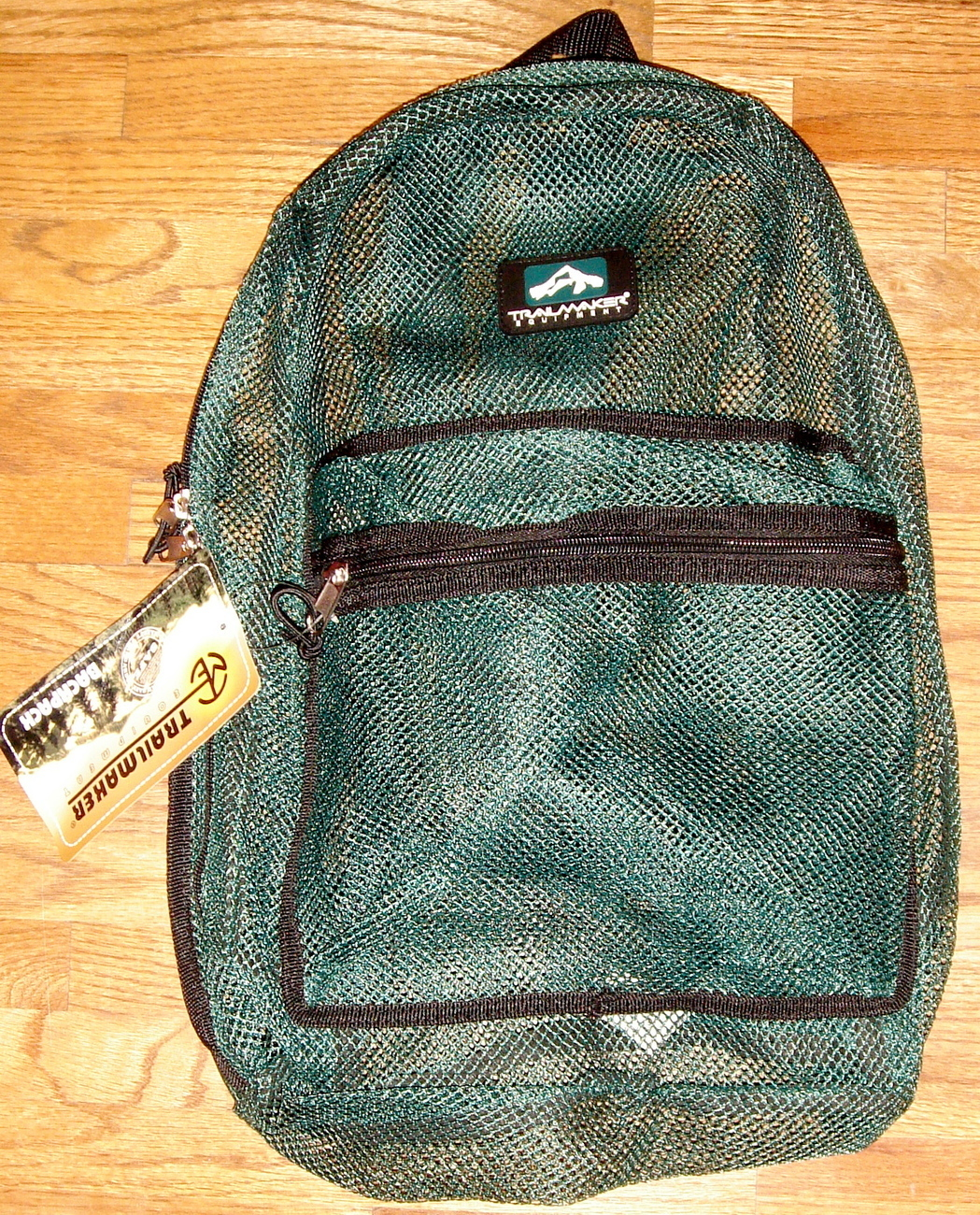Primary image for Green Mesh Backpack by Trailmaker Equipment ~ NEW ~