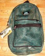 Green Mesh Backpack by Trailmaker Equipment ~ NEW ~ - $22.00