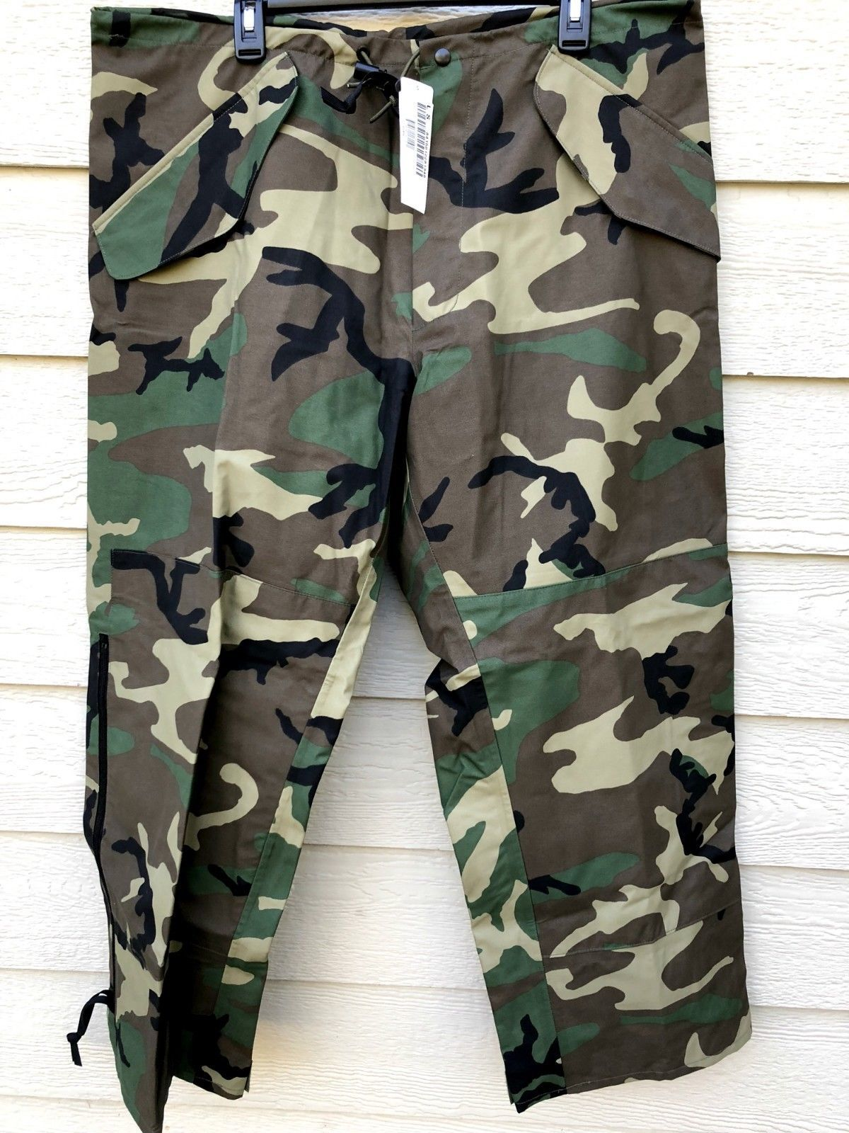 New US Army Cold Wet Weather Gen 1 ECWCS DESERT Goretex Pants Trousers