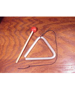 Used Children's Musical Triangle, with striker and hanger - $5.45