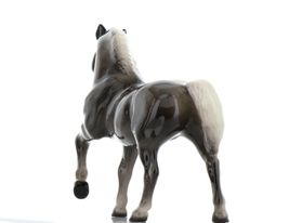 Hagen Renaker Miniature Horse Morgan Stallion Ceramic Figurine Boxed image 6