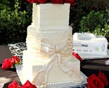 Cake with table runner onyx thumb155 crop