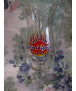 Hard Rock Cafe HOLLYWOOD 25 Anniversary Souvenir Glass - $24.99