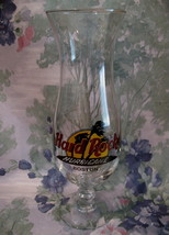 Hard Rock Cafe BOSTON Souvenir Hurricane Glass - $9.99