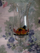 Hard Rock Cafe LONDON Souvenir Hurricane Glass  - $19.99
