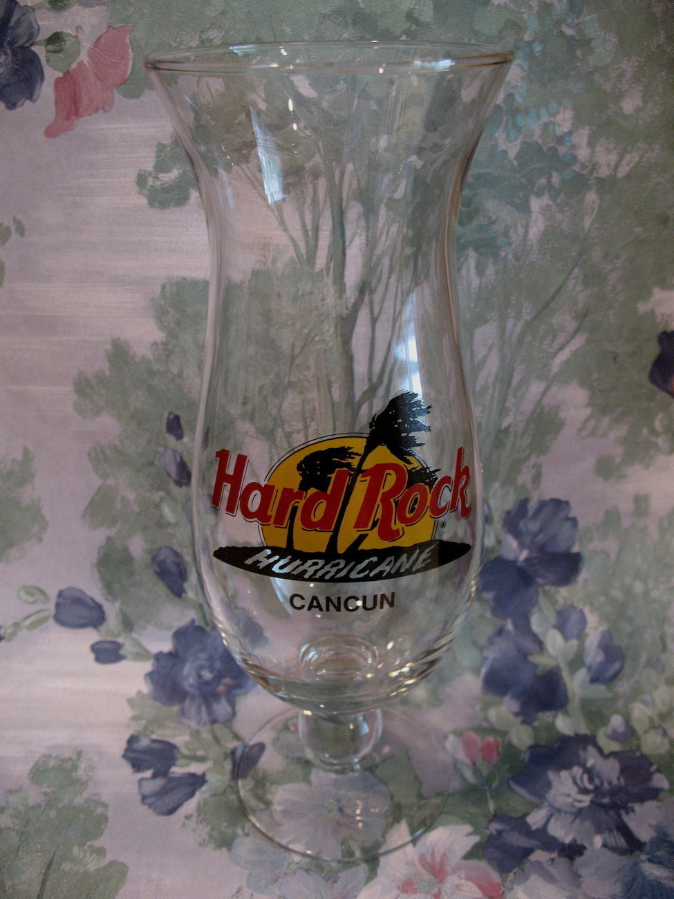 Primary image for Hard ROck Cafe CANCUN Souvenir Hurricane Glass