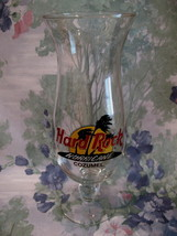 Hard Rock Cafe COZUMEL Souvenir Hurricane Glass - $14.99