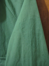 Mens National Parks Green Windbreaker Jacket Sz Large Tall Lightweight image 4