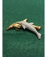 Swarovski Crystal 1991 Dolphin Brooch - $59.00