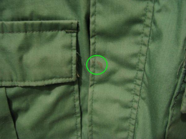 Mens National Parks Green Windbreaker Jacket Sz Large Tall Lightweight image 5