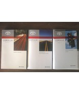 2011 Toyota COROLLA owner's manual book guide set 11 - $12.00