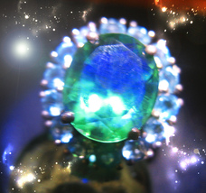 HAUNTED RING BLESSING THAT BANISHES & DEFIES ALL EVIL HIGHEST LIGHT COLL... - $3,735.11