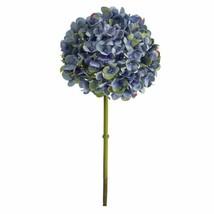 "Luxury Dark Blue 19"" Hydrangea Artificial Flower (Set of 3) - 19"" - $73.02"