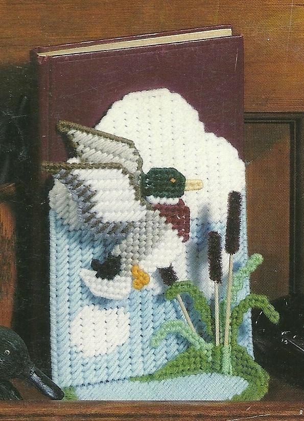Duck Season in Plastic Canvas Pattern Leaflet Leisure Arts No. 1336
