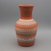 Indiano Nativo Americano Mano Inciso Teiera di Mirelle Gilmore Ceramiche... - $117.64